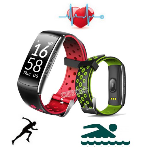 Q8 IP68 Waterproof Smart Bracelet OLED Activity Monitor Sports Smart Wristband