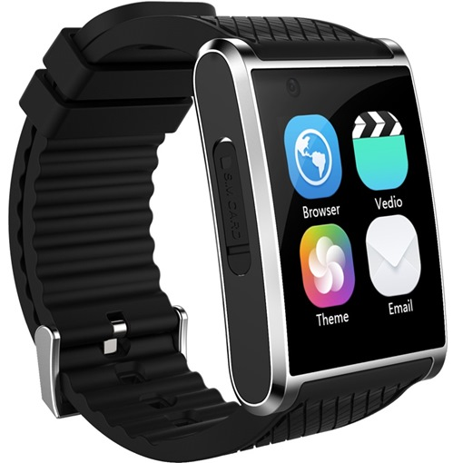 Android Smart Watch Phone Curve-screen Support SIM Card/Wifi/3G Network