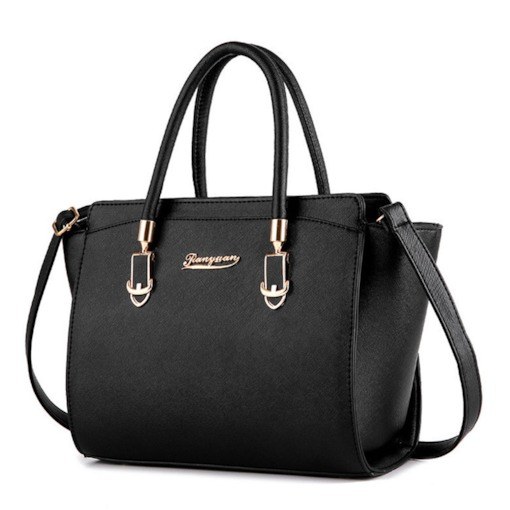 All-Match Solid Color Women PU Tote