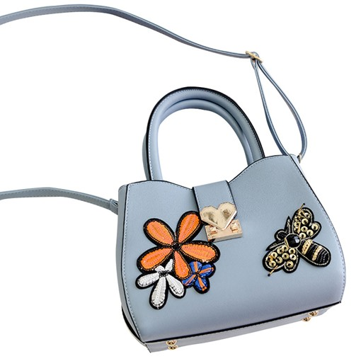 Korean Style Butterfly Embroidery Cross Body