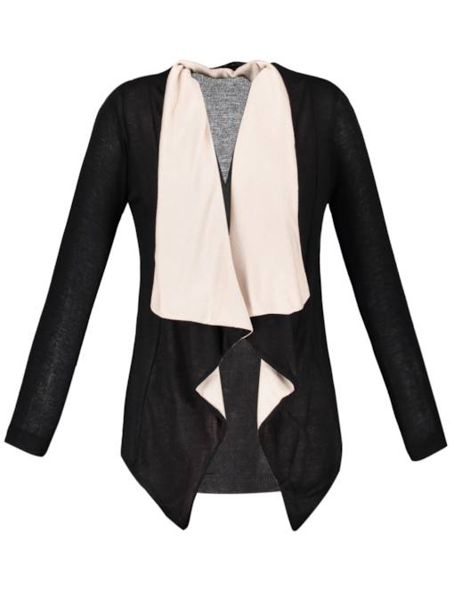 Loose Thin Lapel Cardigan Women's Knitwear