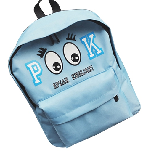 Lovely Cartoon Pattern Canvas Backpack