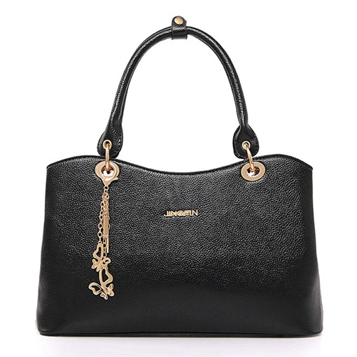 Stylish Exquisite Pendant Solid Color Handbag
