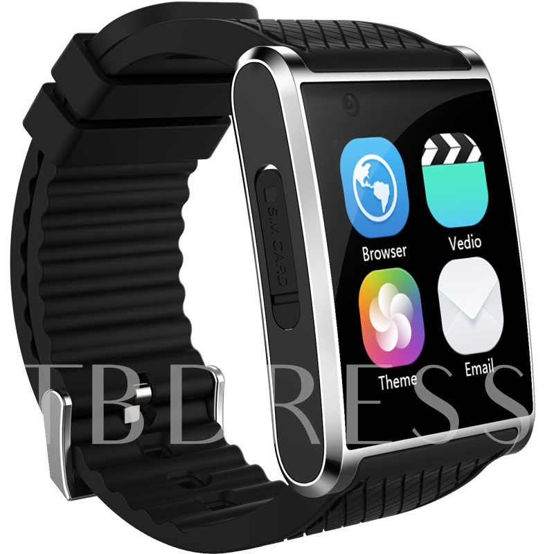 Image of Android Smart Watch Phone Curve-screen Support SIM Card/Wifi/3G Network