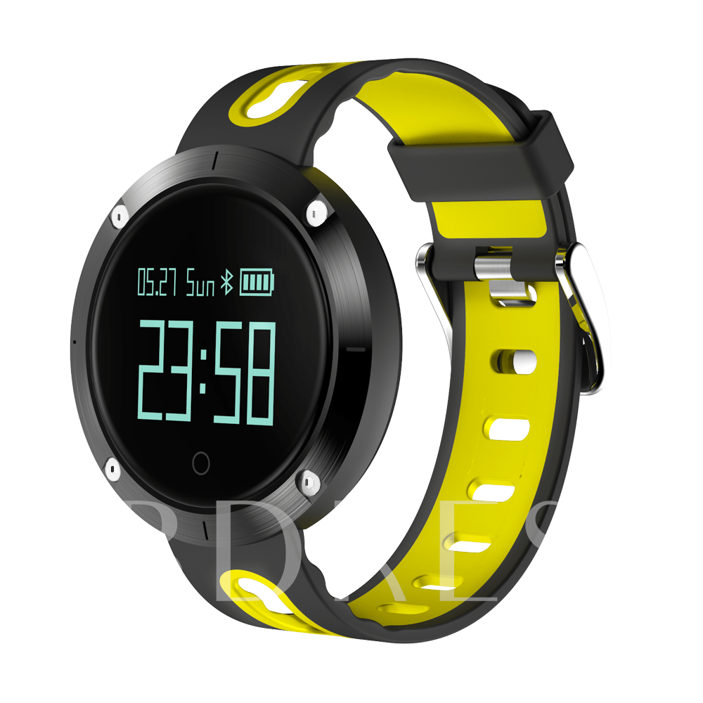 DM58 IP67 Waterproof Smart Watch Heart Rate Blood Pressure Activity Monitor for iPhone X/8/8plus Android