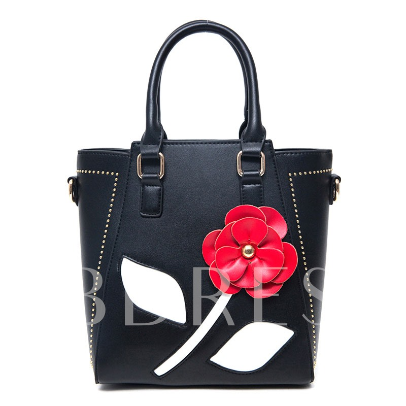 Korean Style Stereoscopic Floral Tote Bag