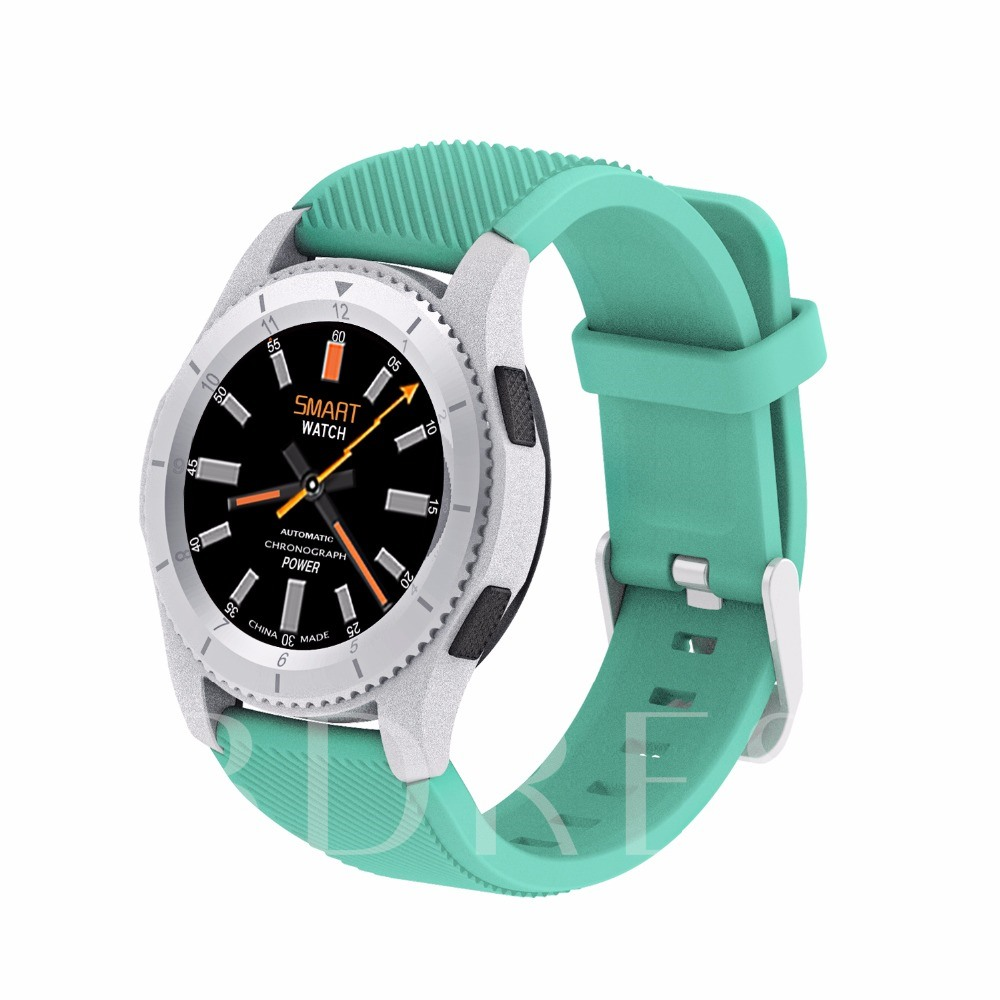 G8 Smart Watch Round Touch Screen Fitness Tracker Support SIM Card