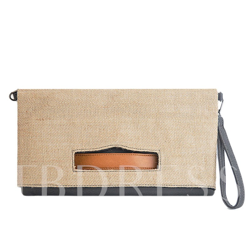 Casual Camouflage Linen Wallet