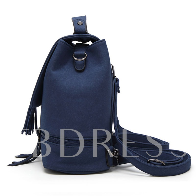 Multi Function Tassel Adornment Backpack
