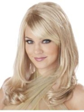 Long Layered Side Wavy Hairstyle Synthetic Capless Wig 18 Inches