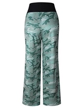 Loose Camouflage Printed Women's Pants