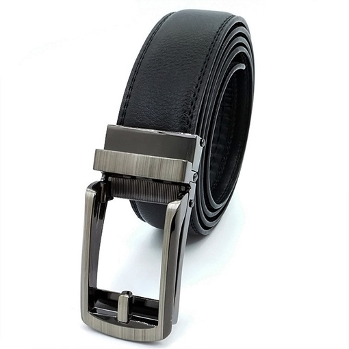 Artificial Embossed Leather Automatic Buckle Automatic Buckle
