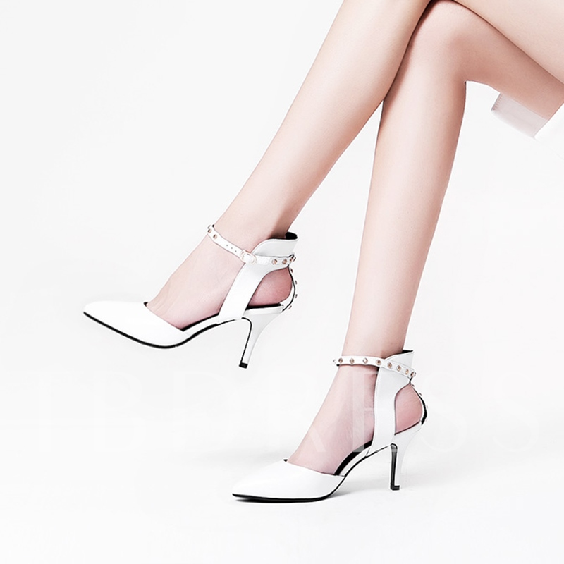 Ankle Strap Line-Style Buckle Women's Kelly Green Pumps Shoes