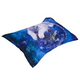 White Tiger and Galaxy Printed 4-Piece 3D Bedding Sets/Duvet Covers