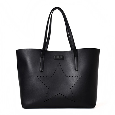 Concise Five-Pointed Star Design Tote