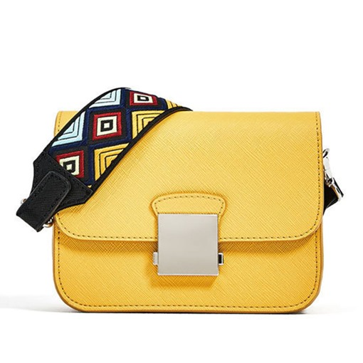 Ethnic Style Shoulder Strap Cross Body Bag