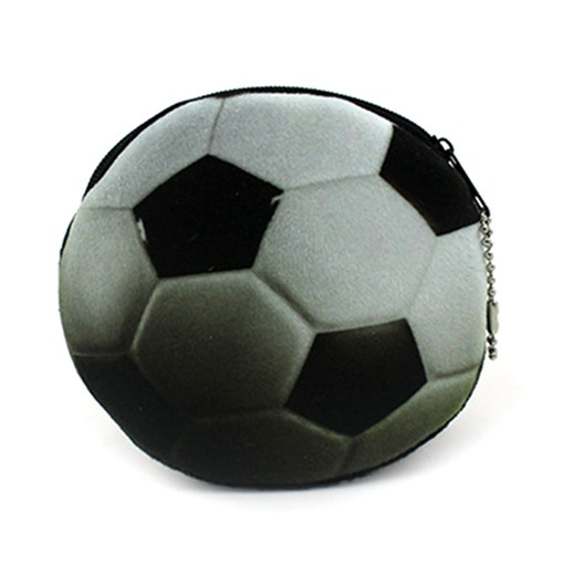 Amusant porte-monnaie de football 3D