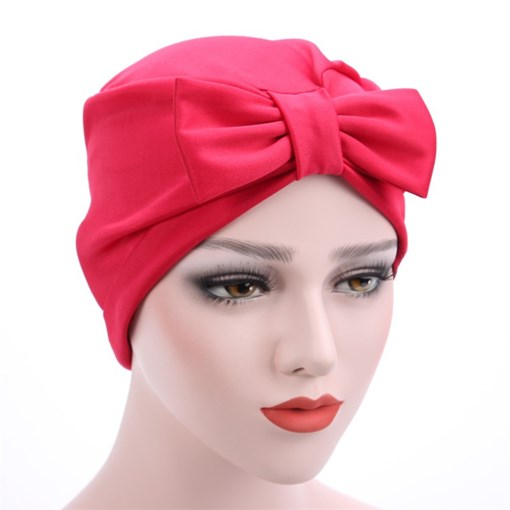 Bowknot Solid Color Thinness Euroamerica Hats