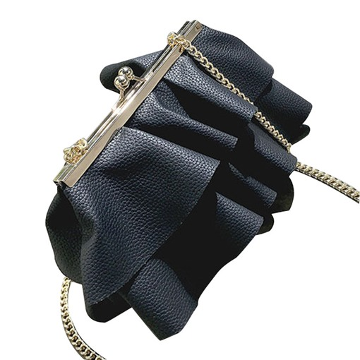 Novelty Skirt Shape Chain Cross Body Bag