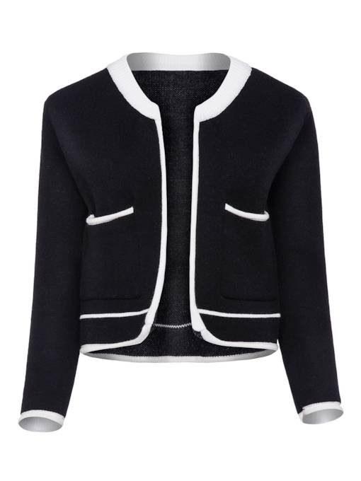 Ladylilke Color Block Women's Cardigan