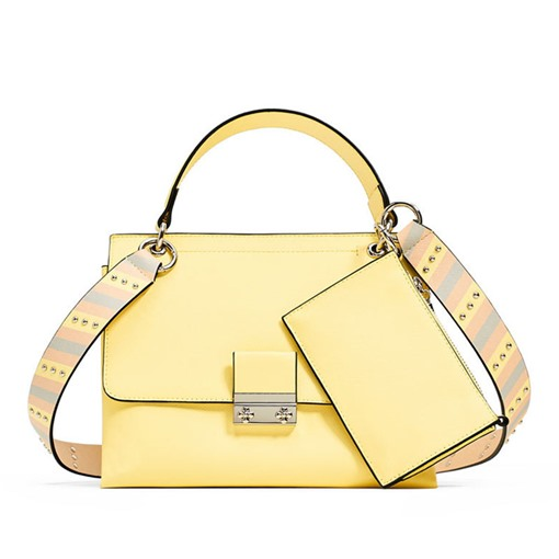Occident Style Solid Color Two Bag Set