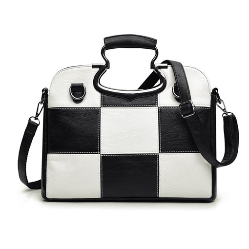 Classic Plaid Pattern Women Tote Bag