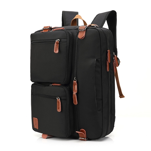 Plain Nylon Backpack Laptop Bags