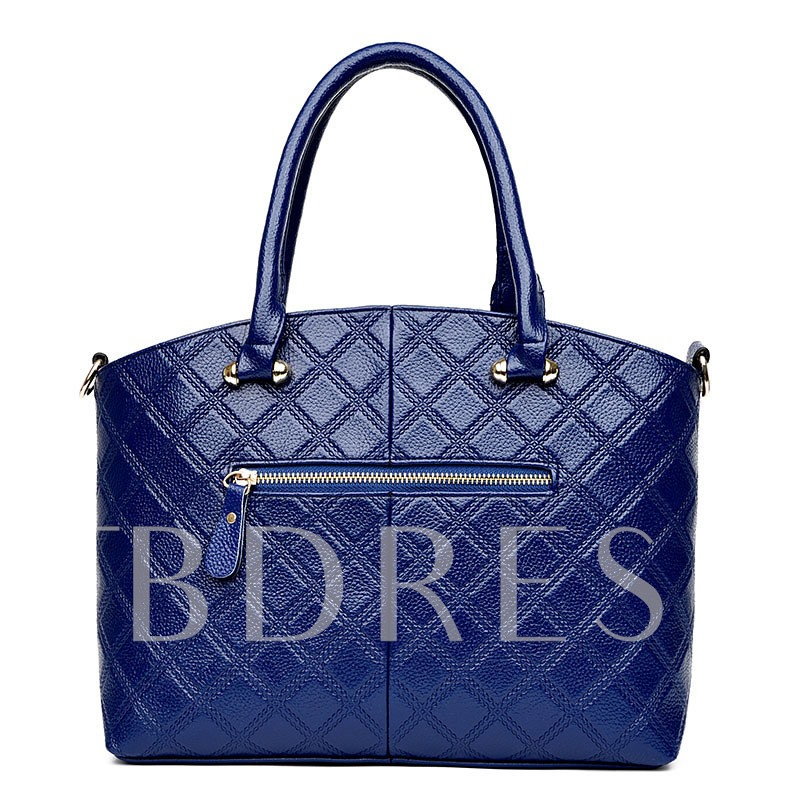 Simplicity Quilted Lining Women Tote Bag