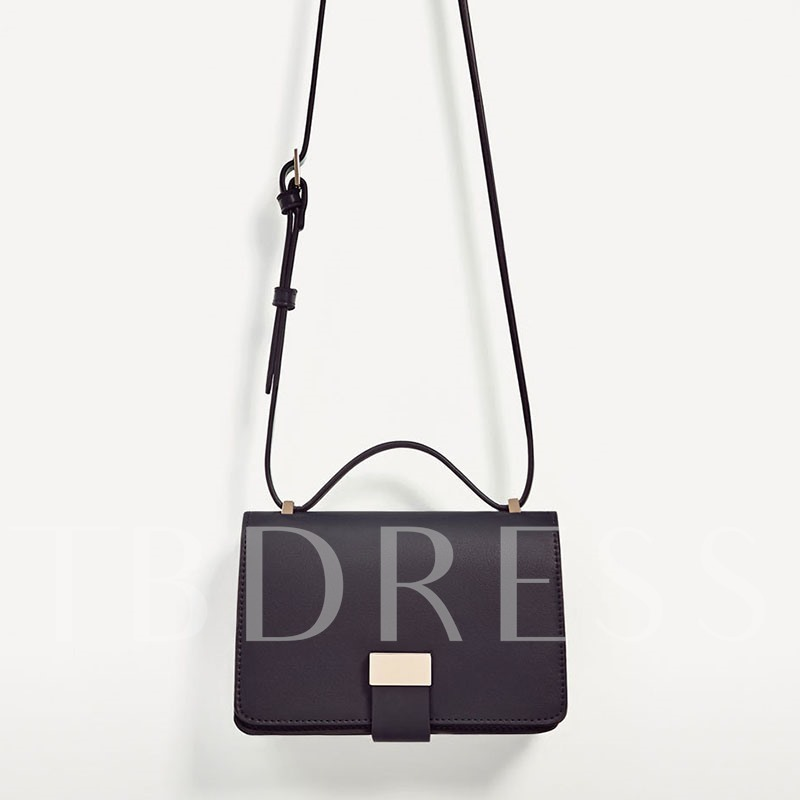 Occident Style Personality Lock Cross Body