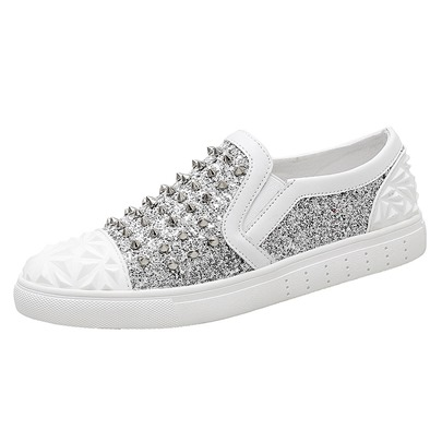 Slip-On River Sequins Cool Fashion Sneakers For Men