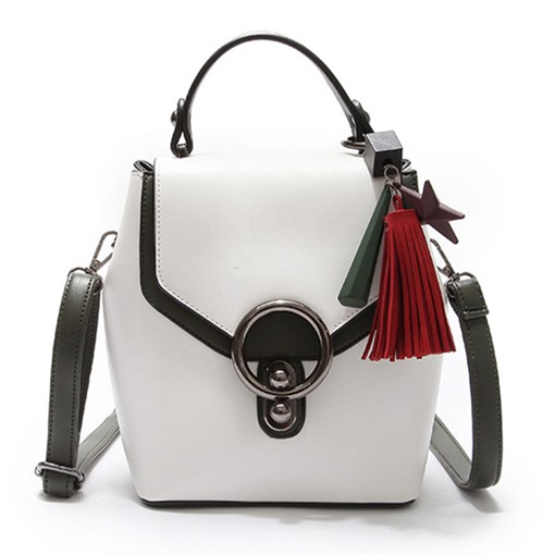 Multi-Function Color Block Delicate Backpack
