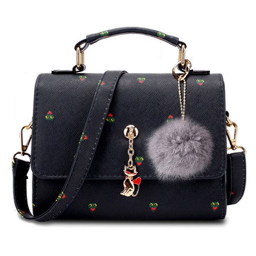 Exquisite Pendant Printing Cross Body Bag
