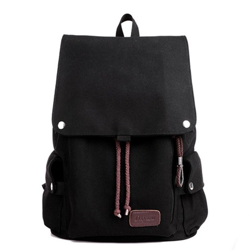 Korean Style Canvas Traveling Backpack