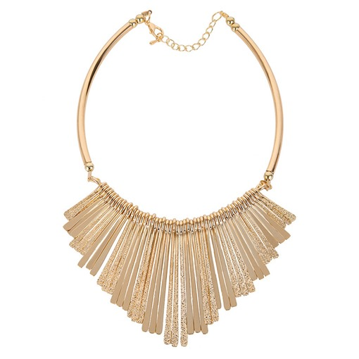 Alloy Multilayer Long&Short Tassel Exaggerated Styles Necklace