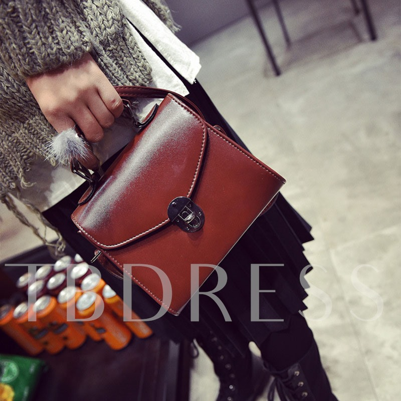 Vintage Patent Leather Cross Body Bag