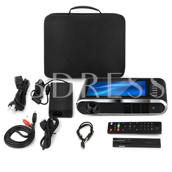 FSP6 Plus Mini LED Home HD 1080P Projector Office DLP Touch Screen