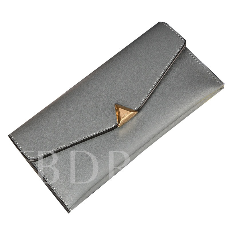 Simplicity Long Type Soft PU Wallet