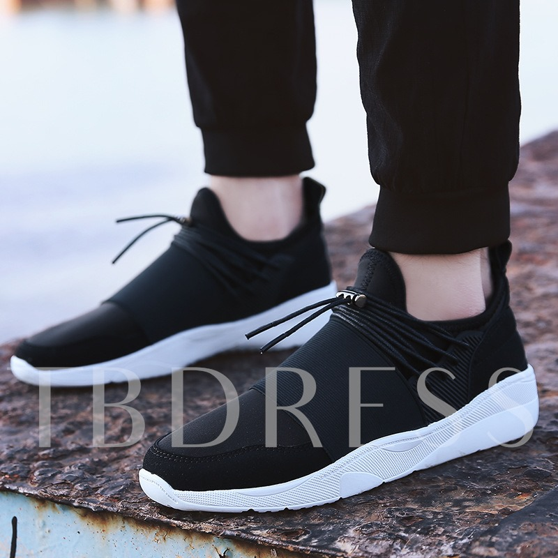 Cloth Lace-Up Men's Casual Shoes