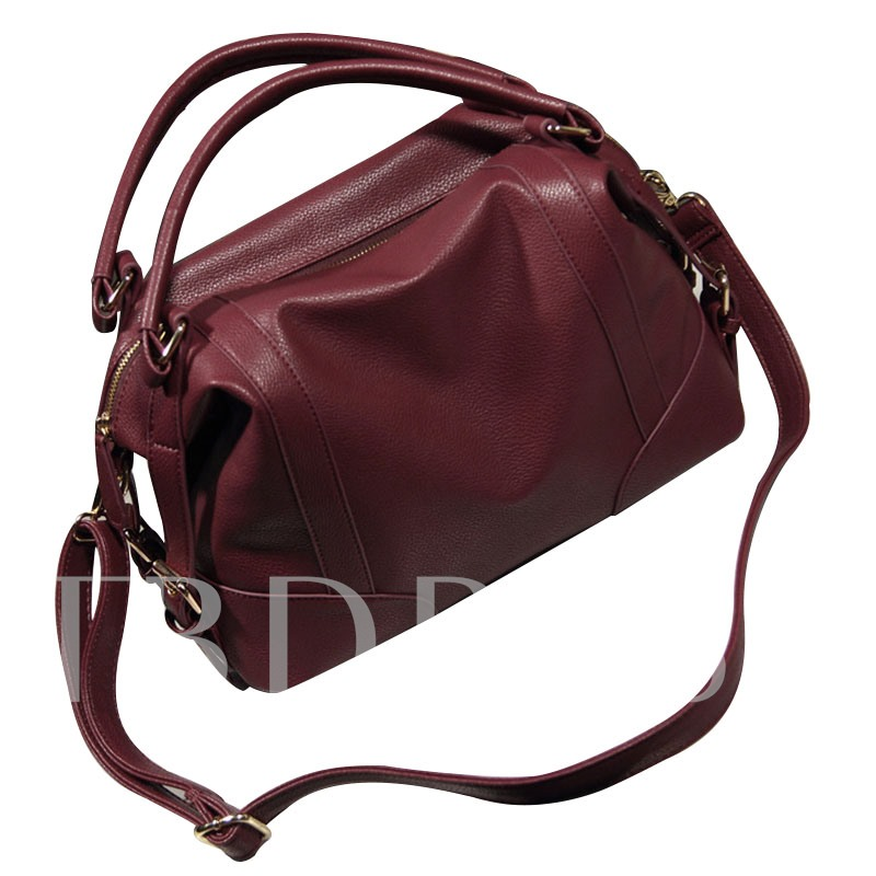 Occident Style Casual PU Tote Bag