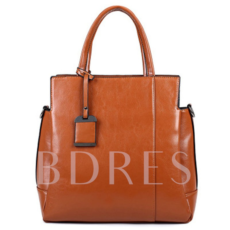Occident Style Concise Women Tote