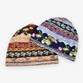All Match Thin Printing Knitted Hats