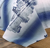 Night City Scenery Ice Printed 3D 4-Piece Bedding Sets/Duvet Covers