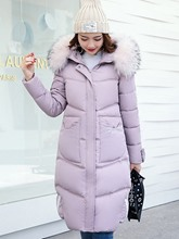 Faux Fur Hooded Zipper Pocket Women's Overcoat