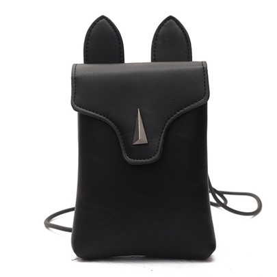 Korean Style Cute Rabbit Ears Design Purse