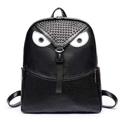Korean Style Cartoon Monster Design Backpack