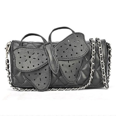 Dual-Purpose Bowknot Pattern Cross Body Bag