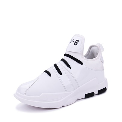 Durable Shoes Patchwork Lace-Up Men's Athletics Sneakers