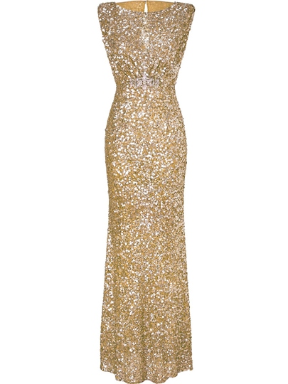 Sleeveless Sequins Womens Maxi Dress Sleeveless Sequins Women's Maxi Dress