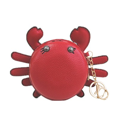 Lovely Cartoon Little Crab Shape Purse