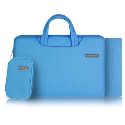 Solid Color Laptop Bag